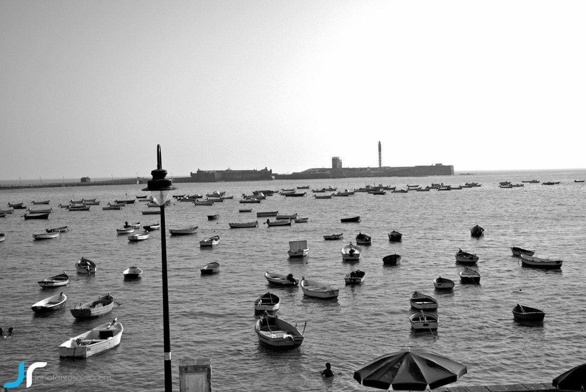la caleta beach Cadiz photo
