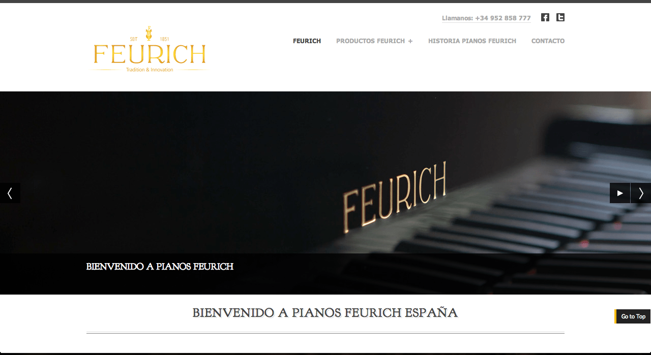feurich.es website