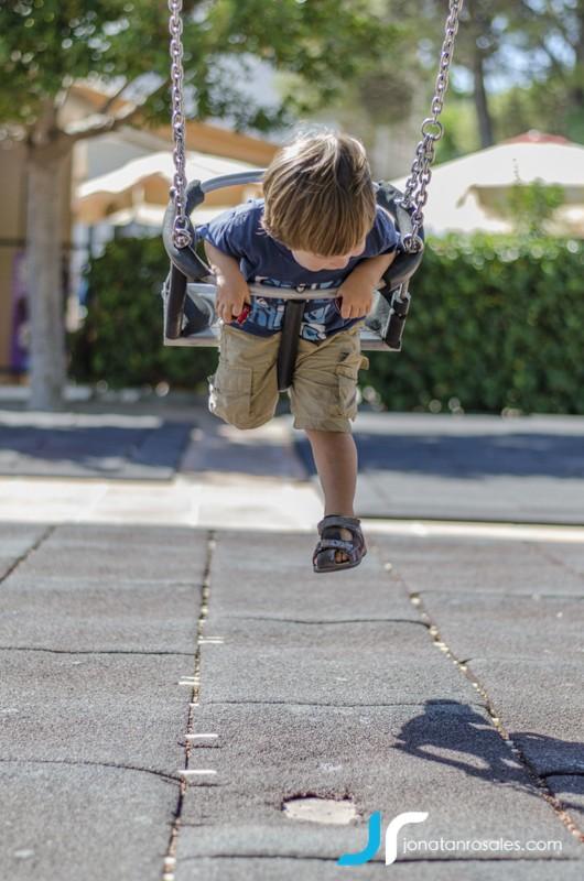 kid having fun photo