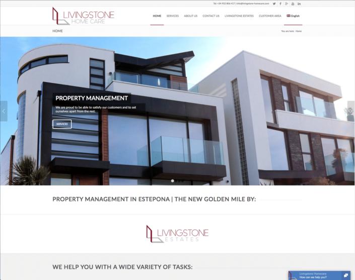 livingstone-homecare.com