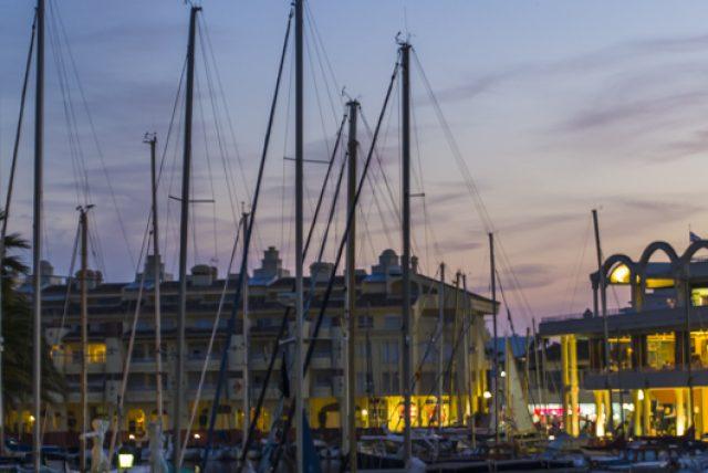 Puerto Marina Benalmadena sunset