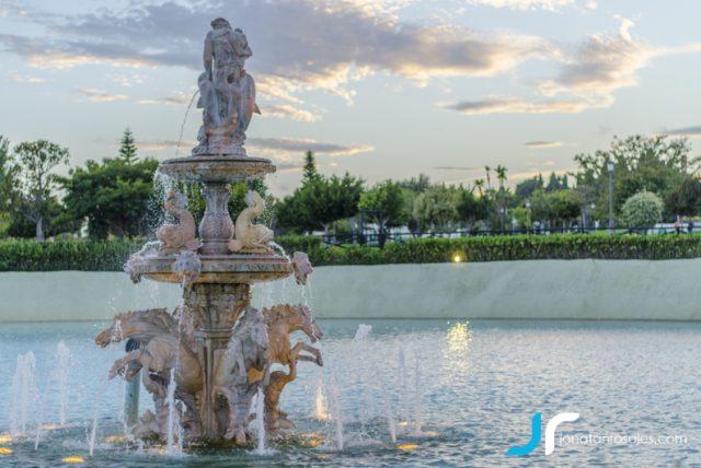 Fountain parque la Bateria