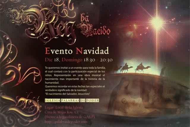 Navidad Invitación