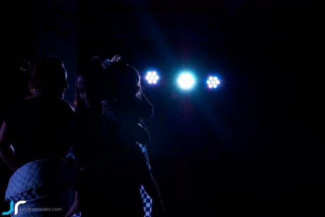 arte & vida dark lights dancing with litle girl II