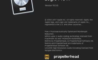 Logic Pro X 10.3.0 Update!