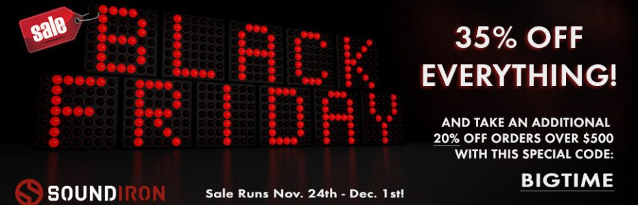 Soundiron Black Friday